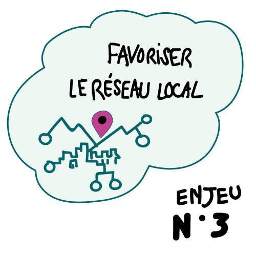Enjeu n°3 : Favoriser le réseau local